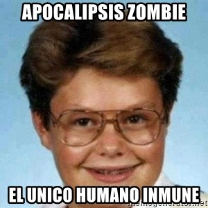 good luck larry hd - apocalipsis zombie el unico humano inmune