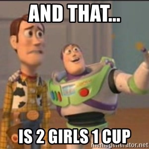 X, X Everywhere  - AND THAT... IS 2 GIRLS 1 CUP