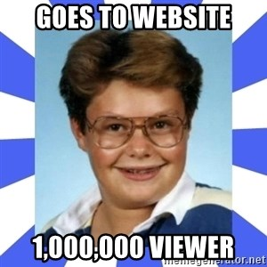 Larry el suertudo - GOES TO WEBSITE 1,000,000 VIEWER
