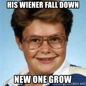 Larry el suertudo - his wiener fall down new one grow