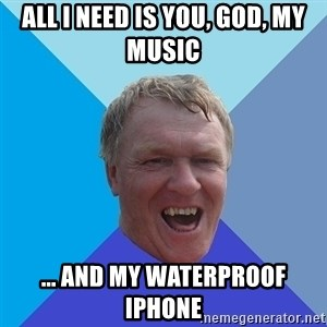 YAAZZ - All i need is you, god, my music ... And my waterproof iPhone