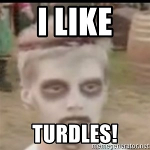 I like turtles  - I Like turdles!