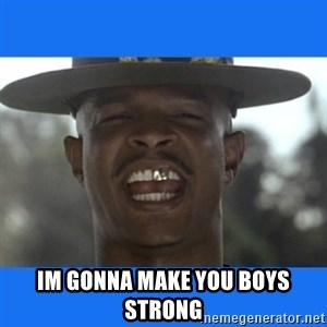 Major Payne - Im gonna make you boys strong