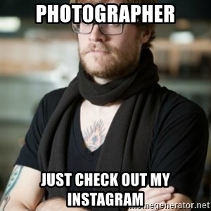 hipster Barista - PHOTOGRAPHER JUST CHECK OUT MY INSTAGRAM