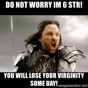 Aragon - What Say You - do not worry im 6 str! you will lose your virginity some day!