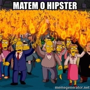 simpsons anger mob - MATEM O HIPSTER