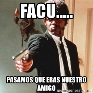 I double dare you - facu..... PASAMOS que eras nuestro amigo