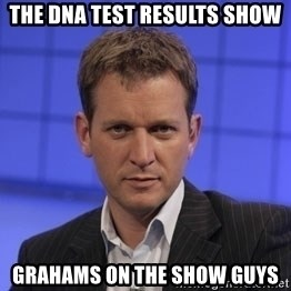 Jeremy Kyle - THE DNA TEST RESULTS SHOW GRAHAMS ON THE SHOW GUYS