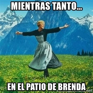 Look at All the Fucks I Give - mientras tanto... en el patio de brenda