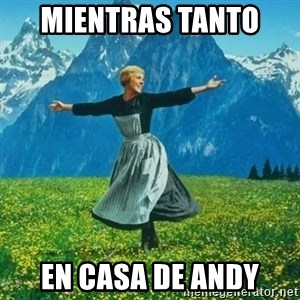Look at All the Fucks I Give - mientras tanto  en casa de andy