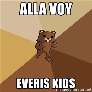 Pedo Bear From Beyond - alla voy everis kids
