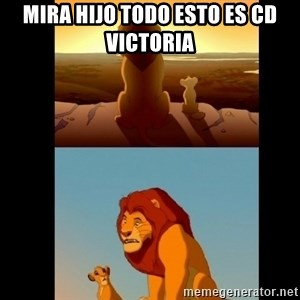 Lion King Shadowy Place - mira hijo todo esto es cd victoria