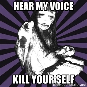 DSBM - hear my voice kill your self