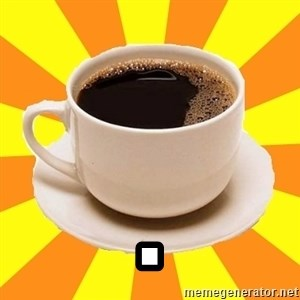 Cup of coffee - .