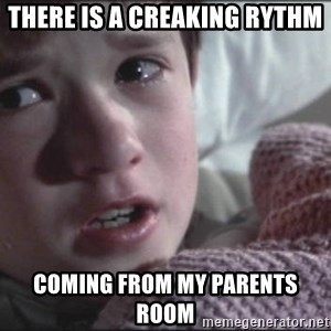 Dead People - THERE IS A CREAKING RYTHM COMING FROM MY PARENTS ROOM
