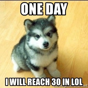 Baby Courage Wolf - one day i will reach 30 in lol