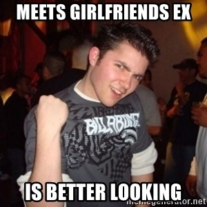 Old Success Kid - Meets girlfriends ex Is better looking