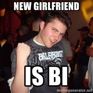 Old Success Kid - new girlfriend is bi