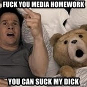 Ted Thunder Buddies - Fuck you media homework you can suck my dick