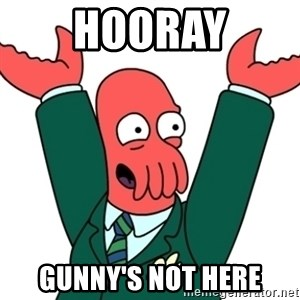 Buisness Zoidberg - Hooray Gunny's not here