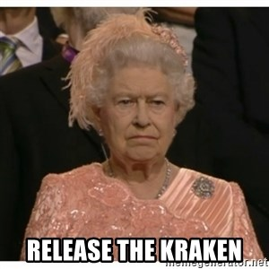 Unimpressed Queen - Release The Kraken