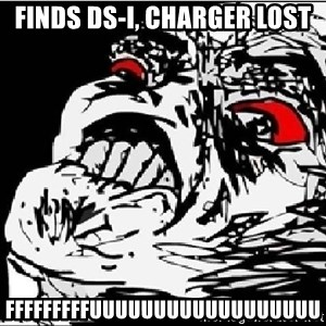Super Fu Face - finds ds-i, CHARGER lost FFFFFFFFFUUUUUUUUUUUUUUUUUU