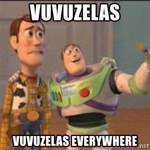 Buzz - VUVUZELAS VUVUZELAS EVERYWHERE