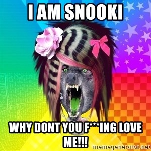 Insanity Scene Wolf - I am snooki why dont you f***ing love me!!!