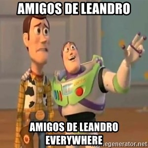 X, X Everywhere  - Amigos de leandro amigos de leandro everywhere
