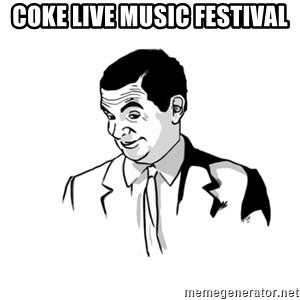if you know what - coke live music festival