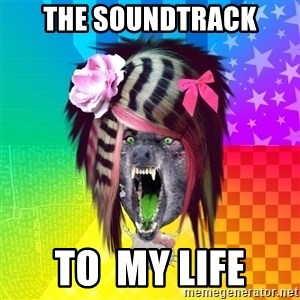 Insanity Scene Wolf - the soundtrack to  my life