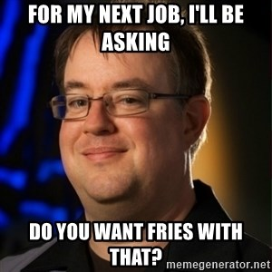Jay Wilson Diablo 3 - fOR MY NEXT JOB, I'LL BE ASKING DO YOU WANT FRIES WITH THAT?