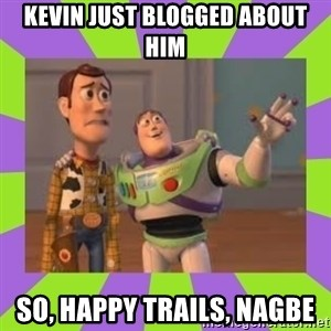 X, X Everywhere  - kevin just blogged about him so, happy trails, nagbe