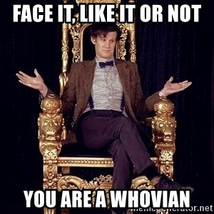 Hipster Doctor Who - Face it, like it or not you are a whovian