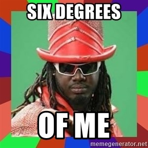 t pain - Six degrees of me