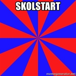 background picture - skolstart