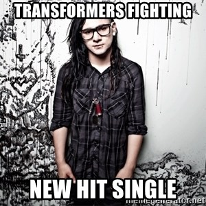 skrillex - transformers fighting new hit single