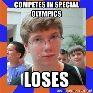 LOL HALALABOOS - competes in special OLYMPICS  loses
