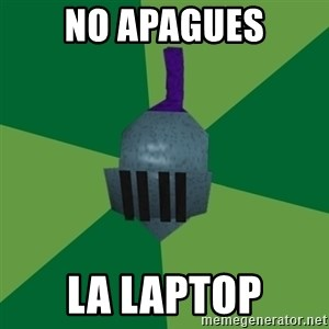 Runescape Advice - No apagues la laptop