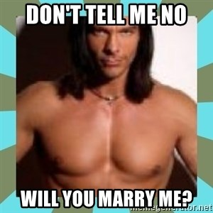 Considerate Boyfriend Nick Manning - DON'T TELL ME NO WILL YOU MARRY ME?