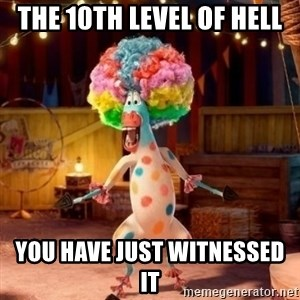 Afro Circus Polkadot - The 10th Level Of Hell You Have Just Witnessed It