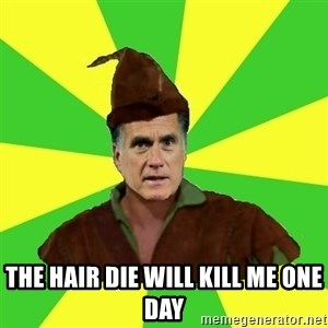 RomneyHood - THE HAIR DIE WILL KILL ME ONE DAY