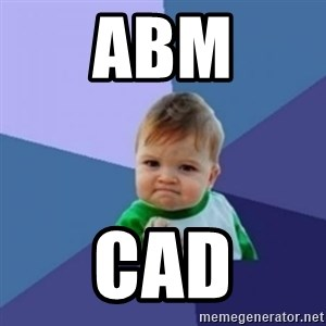 Victory Baby with background - ABM CAD