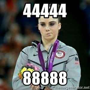 McKayla Maroney Not Impressed - 44444 88888