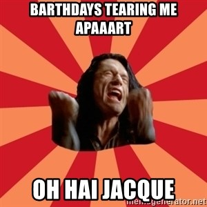 The Room - barthdays tearing me apaaart Oh hai jacque