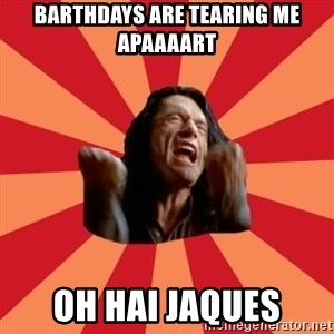 The Room - barthdays are tearing me apaaaart oh hai jaques