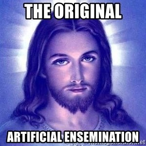 Jesus Christ - THe original Artificial ensemination