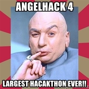Dr. Evil - Angelhack 4 largest hacakthon ever!!