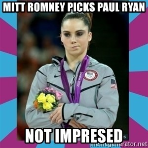 Makayla Maroney  - Mitt Romney picks Paul Ryan Not impreSed