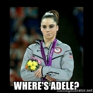i'm not impressed - Where's adele?